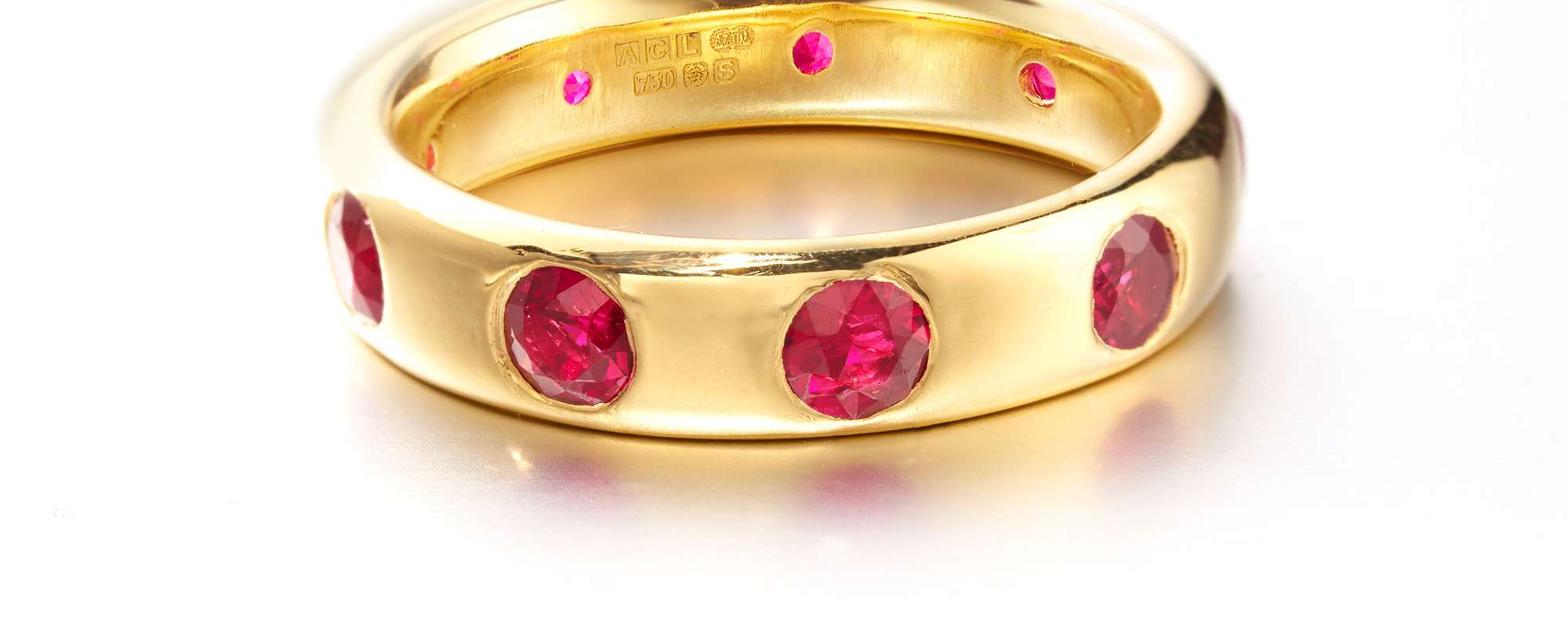 Rubies Eternity Ring retouch